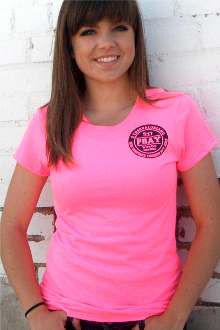 Pray Without Ceasing Women's Tee- Safety Pink or Safety Green