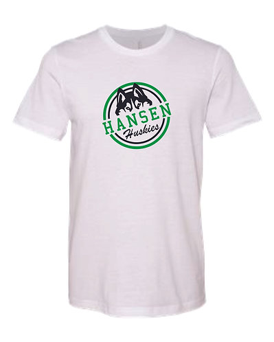 Adult B. White Seal T-shirt