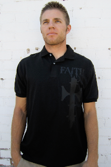 Fight The Good Fight Of The Faith Men's Polo