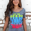 Thumbnail: Let The Peace Of Christ Rule In Your Hearts Women's Tee