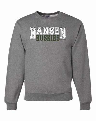 Adult Unisex Hansen Crew Neck Sweatshirt