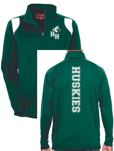 G. Men's Green Quarter Zip