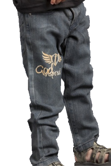 The Lord Is Good Toddler Boy's Jeans