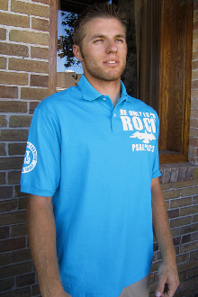 He Only Is My Rock Men's Polo