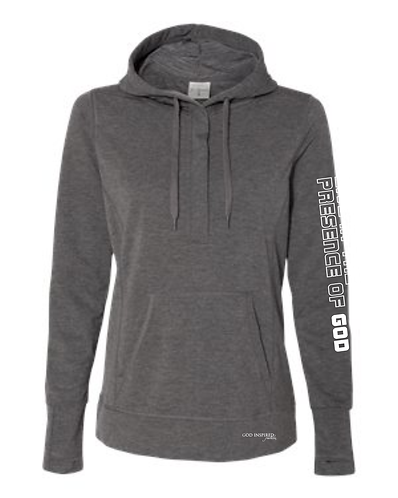 Coram Deo Women's Pullover Hoodie- Charcoal
