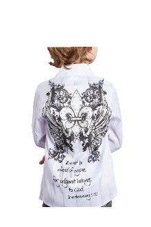 Judgment Belongs To God Button-Down Shirt