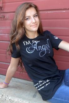 I'm No Angel Women's Tee