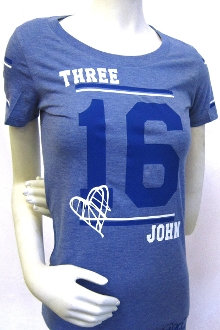 JOHN 3:16 Women's Athletic Tee