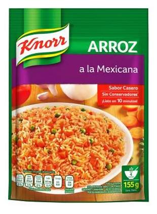 Gourmet - Arroz a la Mexicana Knorr (160g)