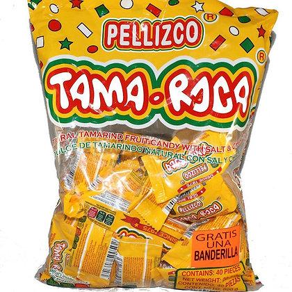 Dulce Pellizco Tama-Roca - Bolsa con 40 piezas