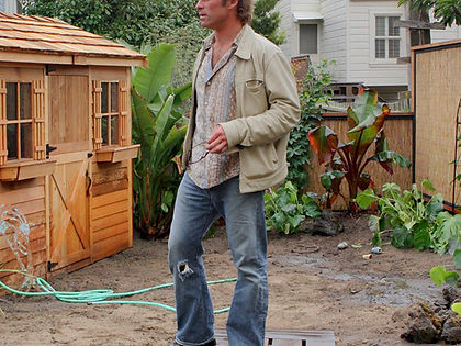 Terry Mulrooney San Francisco landscape garden designer at work.