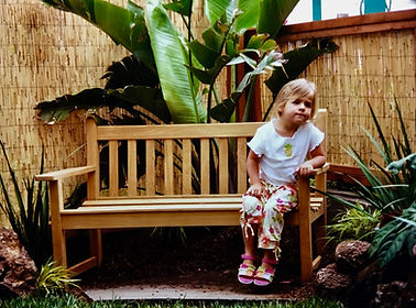 94132 chield and pet friendly tiny garden in a small space. Tropical and drought tolerant.