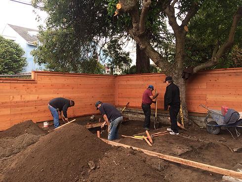Terry Mulrooney San Francisco landscape garden design process work