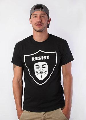 RAIDERS/RESIST/ANONYMOUS SHIRT