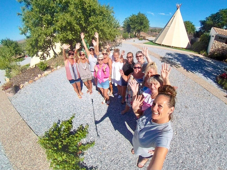 Posh Camping - the perfect group get together