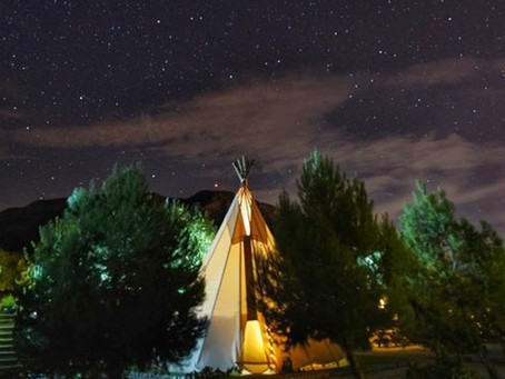 Stargazing Calendar 2021 - be starstruck during your teepee camping adventure
