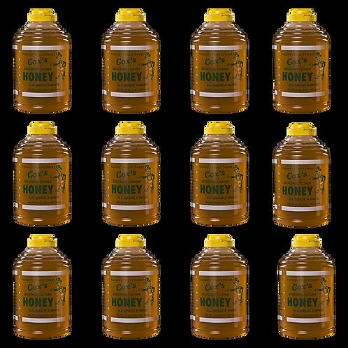 32 oz Raw Clover Honey Case