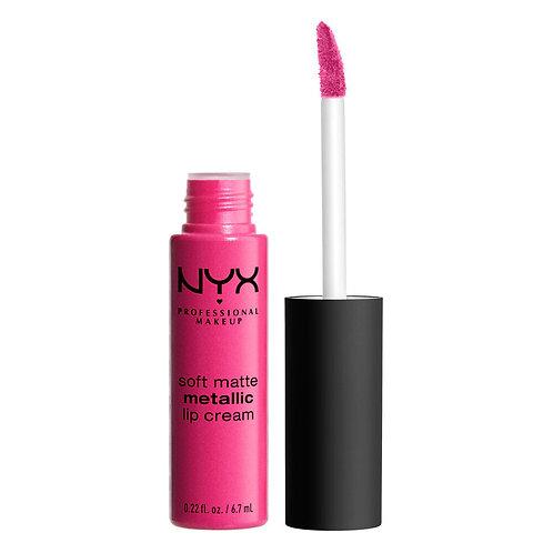 Rouge à lèvre soft matte metallic - NYX