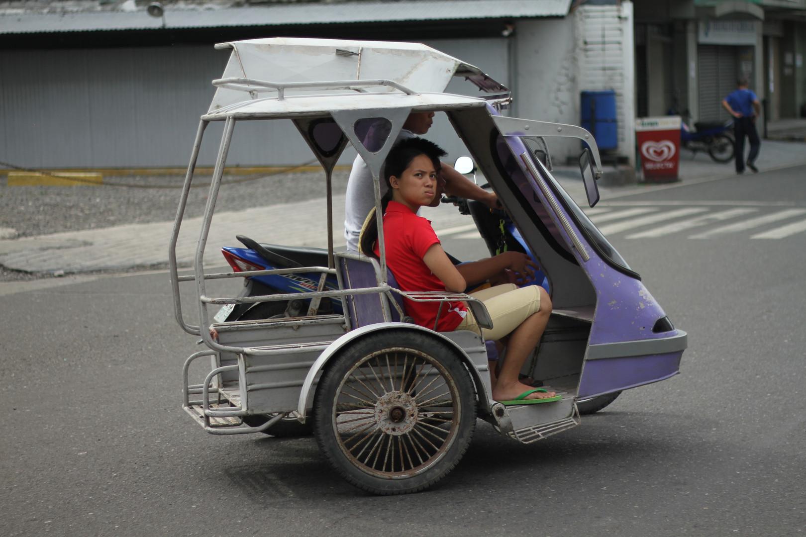 Trike in Traffic
