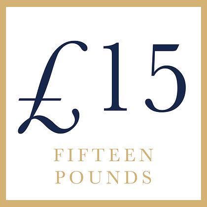 £15 - General Goods