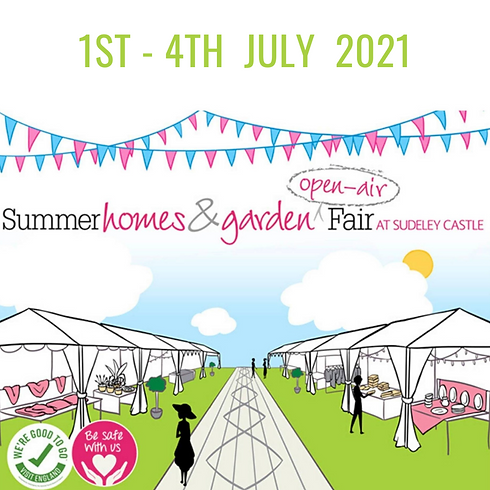Summer Homes & Garden Open-Air Fair at Sudeley Castle