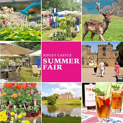 Summer Homes & Garden Fair at Ripley Castle