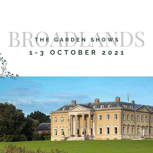 The Garden Show at Broadlands 2021