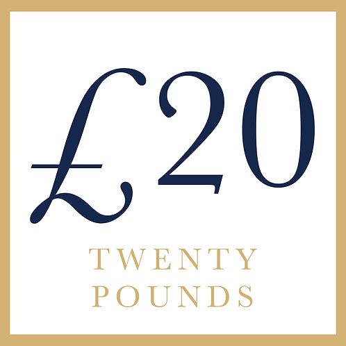 £20 - General Goods