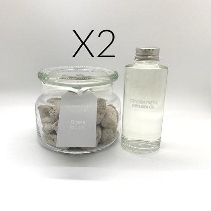 2 Stress Stone Gift Sets