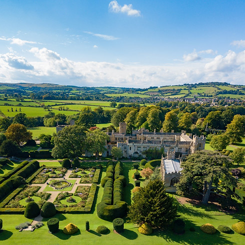 Summer Homes & Garden Open-Air Fair At Sudeley Castle