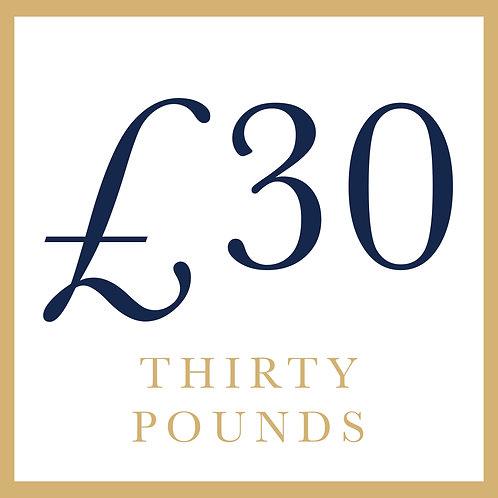 £30 - General Goods