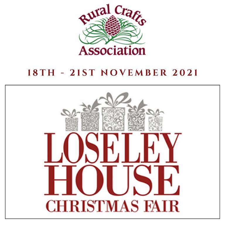 Rural Craft Association Christmas Fair at Loseley House 2021