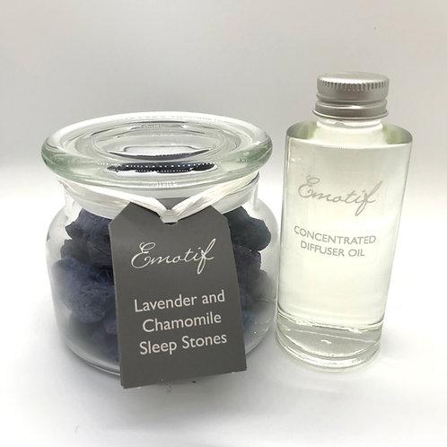 Sleep Stone Gift Set - Lavender & Chamomile