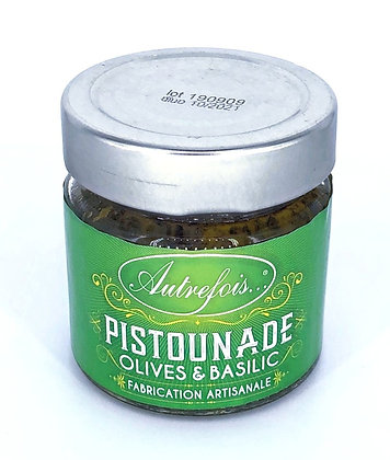Pistounade Oliven & Basilikum