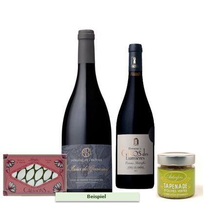 LE MISTRAL GOURMET | Alle 3 Monate Wein + Feinkost | Ab 109.-