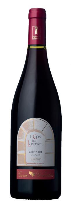 Domaine Clos des Lumières: Cuvée Valentin 2015 | AOP Côtes-Du-Rhône | Vin rouge
