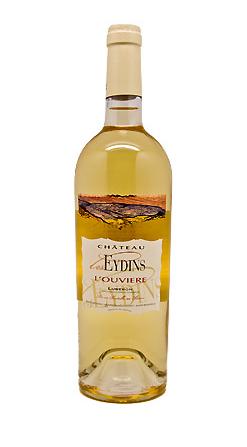 Château Les Eydins: L'Ouvière 2018   AOC Côtes du Luberon   Weisswein