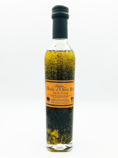 Huile d'olive ail et persil