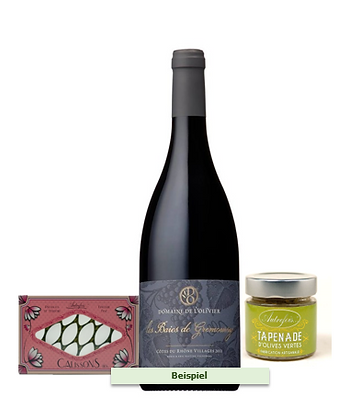 LE GARDON GOURMET | Monatlich Wein + Feinkost | Ab 109.-