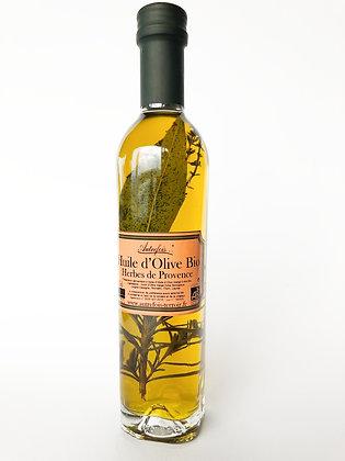Olivenöl mit Kräuter aus der Provence und Piment