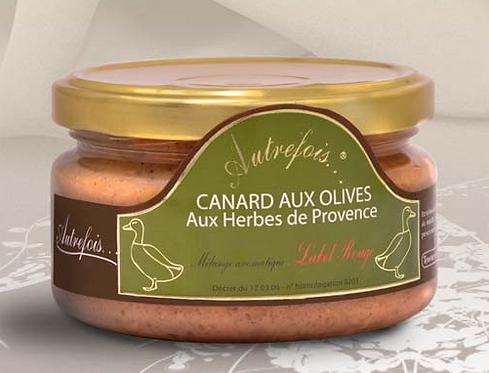 Terrine de canard aux olives vertes