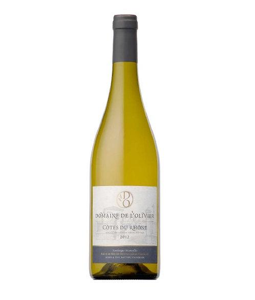 Domaine de L'Olivier: Côtes Du Rhône Blanc 2018 | AOP Côtes du Rhône | Weisswein