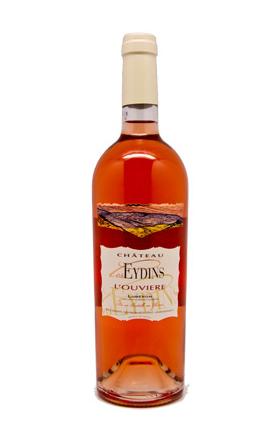 Château Les Eydins: L'Ouvière 2018   AOC Côtes du Luberon   Roséwein