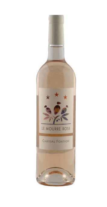 Château Fontvert: Le Mourre Rosé 2018 | AOP Luberon | Roséwein