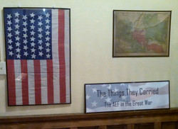 RBP banner at Heritage Center