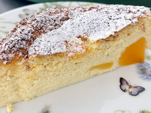 Skyr-Mango-Torte (low carb, glutenfrei) 🥭