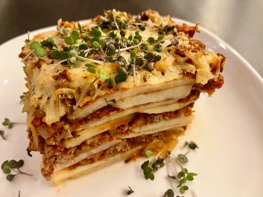 Kohlrabi-Lasagne ❤️