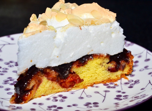Zwetschg(k)en-Kuchen mit Schneehaube 👩🍳