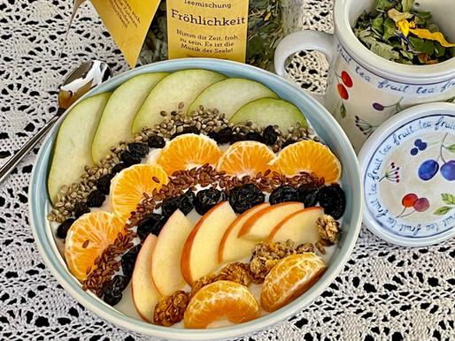 Frühstücks-Bowl 🍊🍌🥝