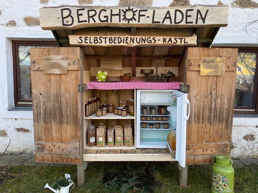 BergHof-Laden der Fam. Hunger in Erdleiten